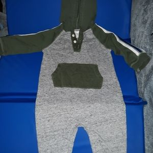 One piece track suit